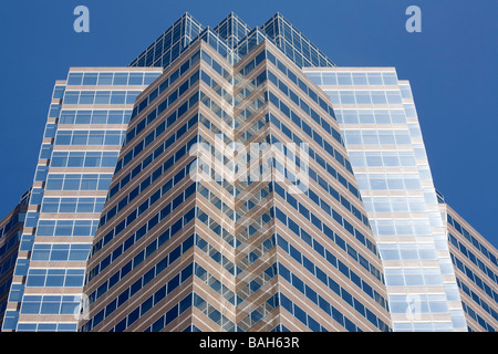 United States, California, Los Angeles, Century City, Fox Plaza building, headquarters of the 20th Century Fox's - Stock Photo