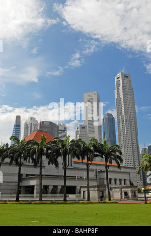 Singapore Skyline - Stock Photo