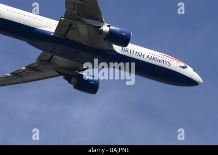 British Airways Boeing 777 jet airliner aircraft - Stock Photo