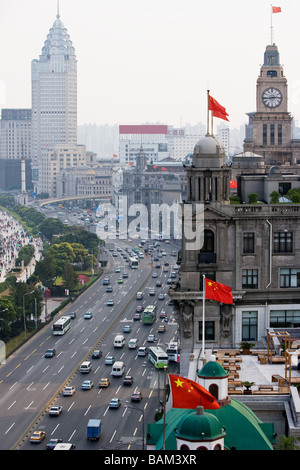 The bund shanghai - Stock Photo