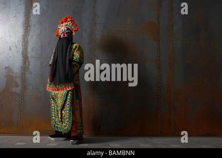 Man In Ceremonial Costume - Stock Photo