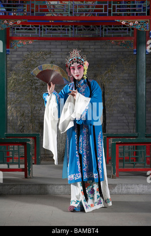 Woman In Ceremonial Costume - Stock Photo