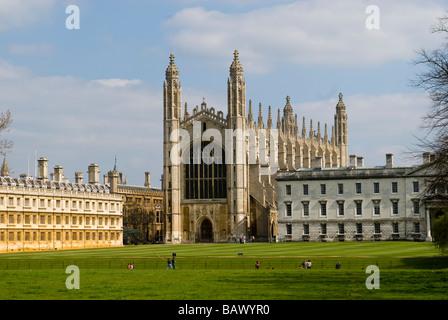 King's College Chapel Cambridge University - Stock Photo