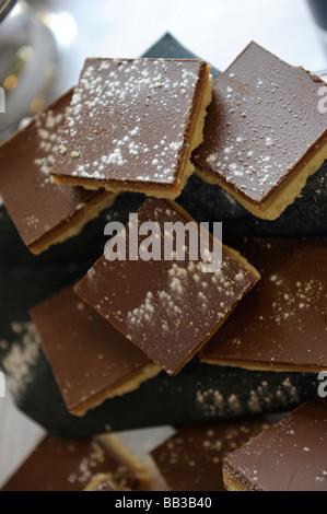 Teatime cakes - Stock Photo