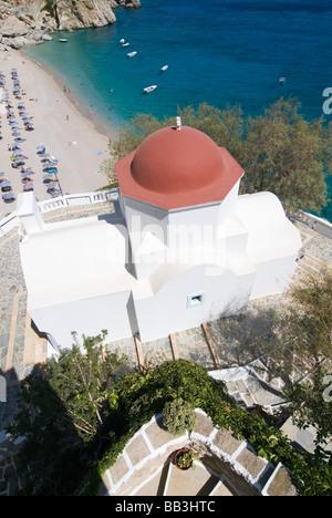 Greek Island Karpathos: Kyra Panaghia - Stock Photo