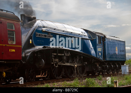 a4 pacific no. 60007, sir nigel gresley and a cloud of