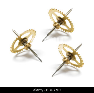 Clock Gear Wheels - Stock Photo