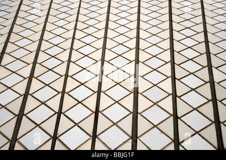 Tile Detail on Sydney Opera House Sydney New South Wales Australia - Stock Photo