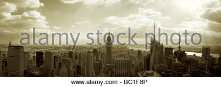 NYCPanorama cypia - Stock Photo