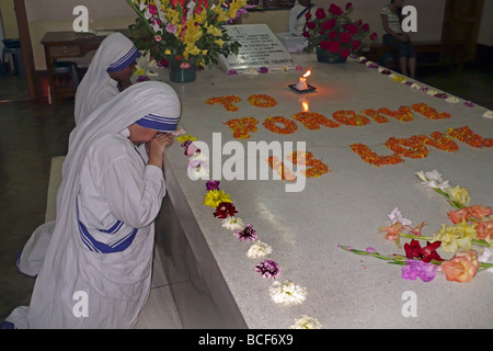 india kolkata tomb mother teresa - Stockfoto