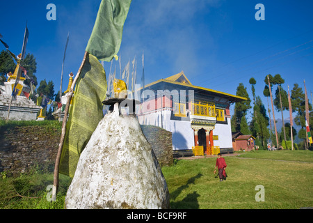 India, Sikkim, Pelling, Sangachoeling Gompa, the second oldest Gompa in Sikkim - Stockfoto
