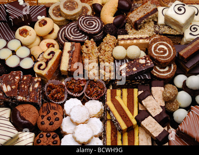 Selection Of Homemade Cakes Stock Photo 17553459 Alamy