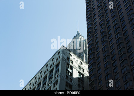 American International Building, downtown Manhattan, New York City, low angle view - Stock Photo