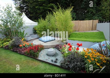 Tatton park rhs flower show 2013 the water garden designed for Garden design knutsford