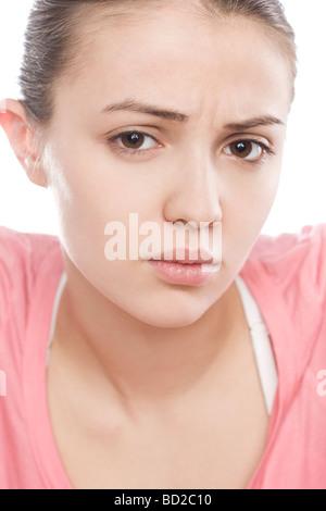 Young woman sad - Stockfoto