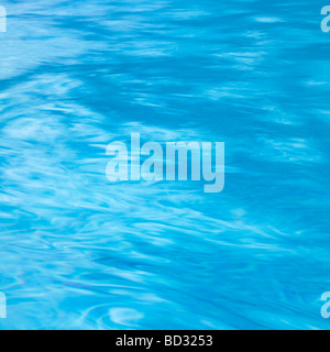 Water Background Full Frame With Gentle Rippled Texture. - Stock Photo
