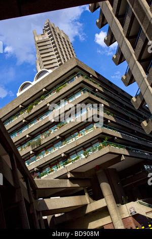 The Barbican  London England - Stock Photo