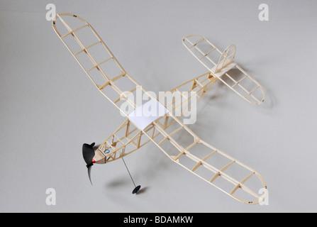 Keilkraft Achilles Rubber Powered Model Plane Stock Photo