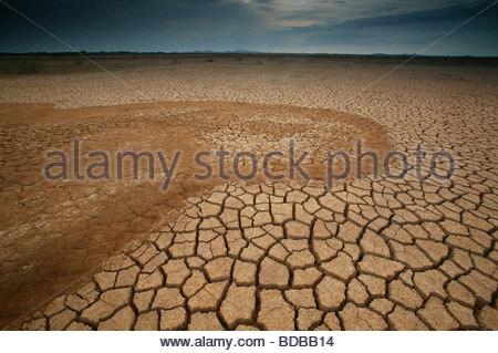 Sarigua national park (desert), in Herrera province, Republic of Panama. - Stock Photo