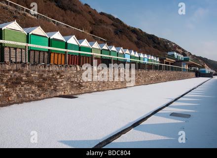 Beach Huts On Promenade Similar To Bournemouth