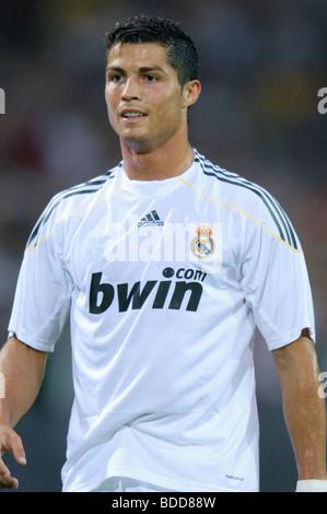 Cristiano Ronaldo (Portugal), player of spanish soccer club Real Madrid, during a match vs. Borussia Dortmund. - Stockfoto