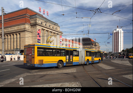 Leipzig Central Station, Germany - Stock Photo