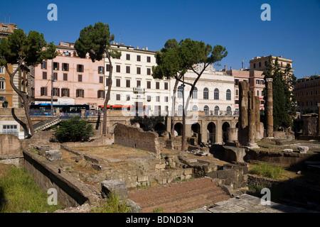 Area Sacra di Largo Argentina, Rome, Lazio, Italy, Europe - Stock Photo