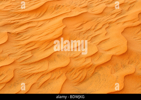 Sand dunes and structures near Mui Ne, Red Sand Dunes, Vietnam, Asia - Stock Photo