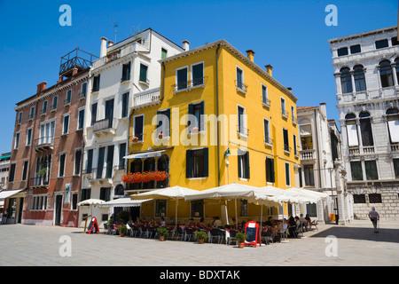 Campo San Stefano, Venice, Italy, Europe - Stock Photo