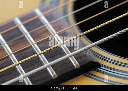 Acoustic Guitar - Stockfoto