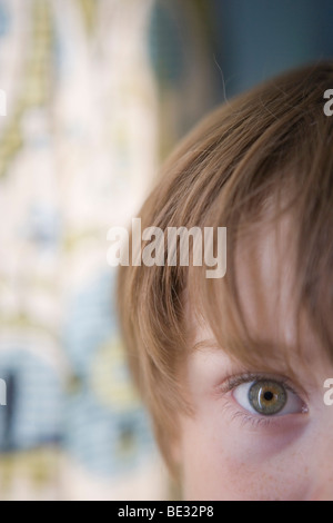 close up of a child's eye - Stock Photo