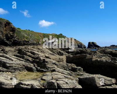 Lizard Point Cornwall England UK - Stock Photo