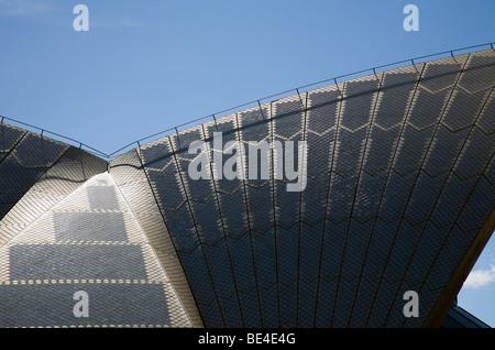 Sydney Opera House roof detail. Sydney, New South Wales, AUSTRALIA - Stock Photo