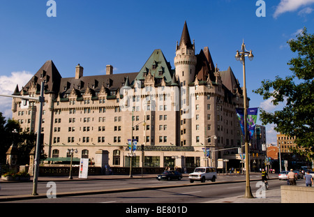 rideau street in ottawa ontario canada showing the. Black Bedroom Furniture Sets. Home Design Ideas