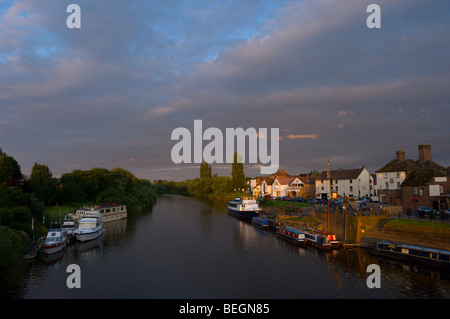 Upton upon Severn, Worcestershire, England, United Kingdom. - Stockfoto
