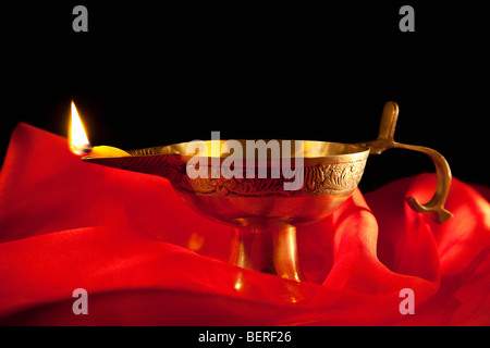 A diya - Stock Photo