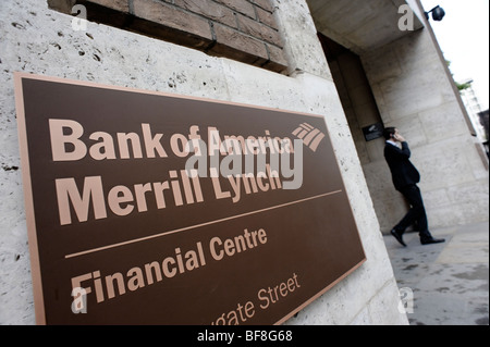 Merrill Lynch Bank of America Financial Centre, City of London Stock Photo, Royalty Free Image ...