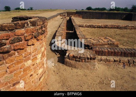 Lothal Indus Valley Civilization Gujarat India - Stock Photo