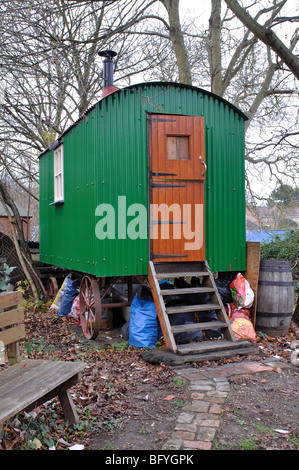 A shepherd s hut, Yarnton, Oxfordshire, England, UK - Stockfoto