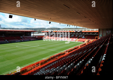 The Bristol City FC ground Ashton Gate March 2008 - Stock Photo