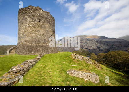 Dolbadarn Castle, Llanberis, Wales - Stock Photo