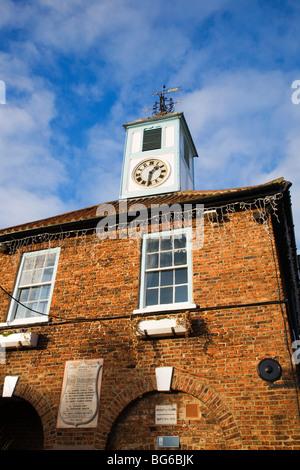 Yarm Town Hall Stockton on Tees England - Stock Photo