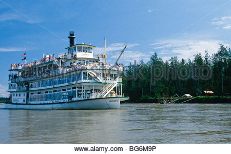 Riverboat discovery sternwheeler on chena and tanana for Fishing in fairbanks alaska