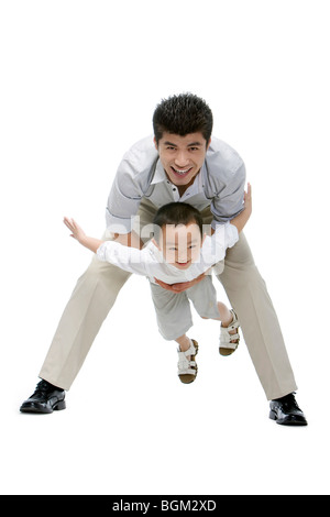 Father and son moment - Stock Photo