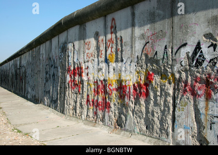 Remnant of the Berlin wall, Germany - Stockfoto