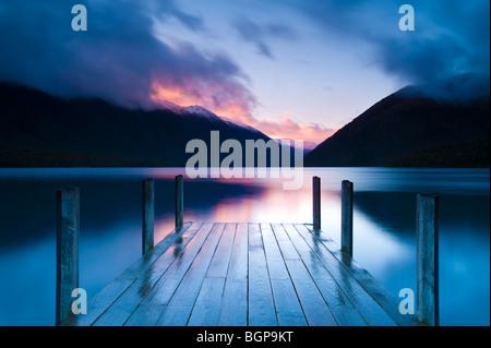 Lake Rotoiti, South Island, New Zealand - Stock Photo