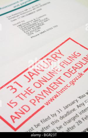 how to do self assessment tax return uk