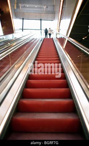 Escalator, Sweden. - Stock Photo