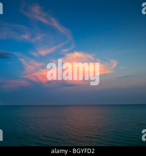Ocean and clouds - Stock Photo
