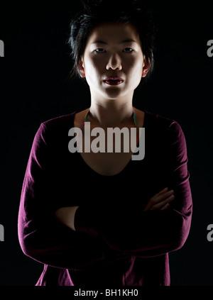 portrait  of oriental woman - Stock Photo